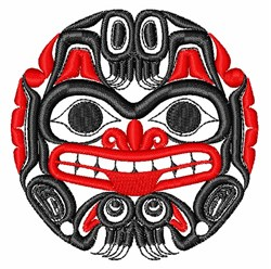 Islander Mask embroidery design