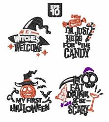 Halloween Decor embroidery design