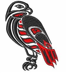 Tribal Eagle embroidery design