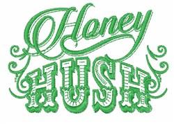 Honey Hush embroidery design