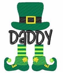 St. Patricks Day Dadyy embroidery design