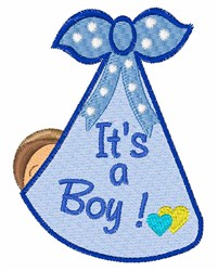 Its A Boy Delivery embroidery design