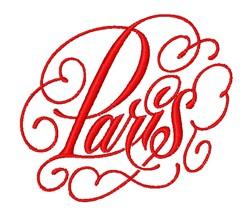 Elegant Paris embroidery design
