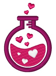 Love Potion embroidery design