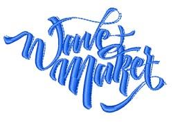 Wane Maker embroidery design