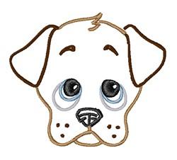Sad Puppy   embroidery design