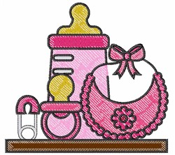 Baby Girl Items embroidery design