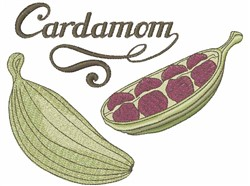 Cardamom embroidery design