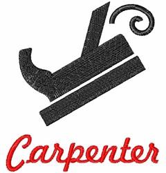 Carpenters Planer embroidery design