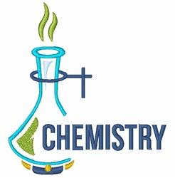 Chemistry Beaker embroidery design