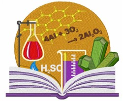 Science Set embroidery design