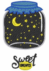 Goodnight Sweet Dreams embroidery design