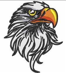 Eagle Mascot Head embroidery design
