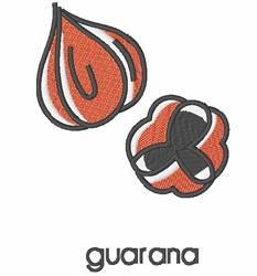 Guarana embroidery design