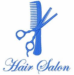 Hair Salon embroidery design