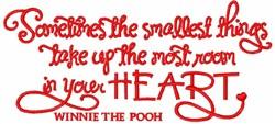 Big Heart Winnie embroidery design
