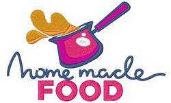 Home Made Food embroidery design