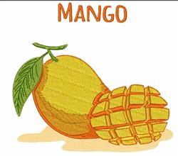 Mango embroidery design