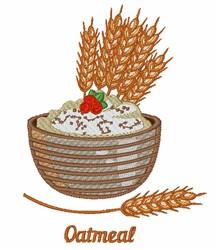 Oatmeal & Wheat embroidery design