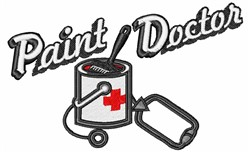 Paint Doctor embroidery design
