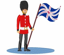 Royal Guard embroidery design