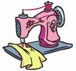 Cartoon Sewing Machine embroidery design