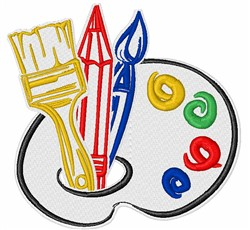 Painters Tools embroidery design