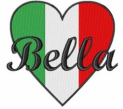 Italian Bella embroidery design
