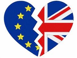Brexit Symbol embroidery design