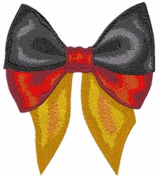 German Bow embroidery design
