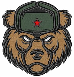 Russian Bear embroidery design