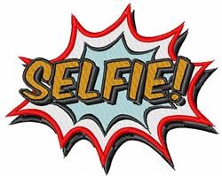 Comic Book Selfie! embroidery design