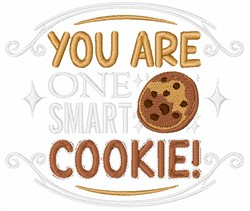 One Smart Cookie embroidery design