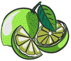 Limes embroidery design