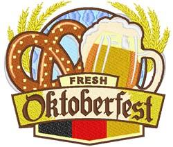 Fresh Oktoberfest embroidery design
