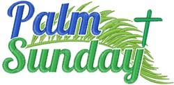 Palm Sunday embroidery design