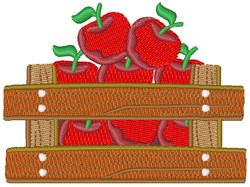 Box Full Of Apples embroidery design