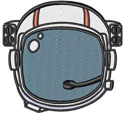 Astronauts Helmet embroidery design