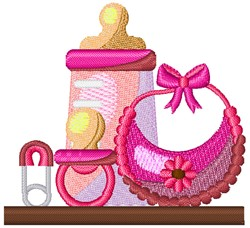 Baby Girl Goodies embroidery design