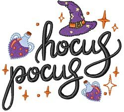 Hocus Pocus Potions embroidery design