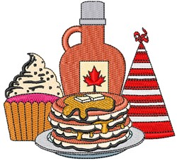 Party Food! embroidery design