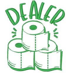 Toilet Paper Dealer embroidery design