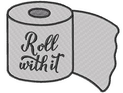 Roll With It embroidery design