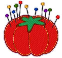Tomato Pin Cushion embroidery design