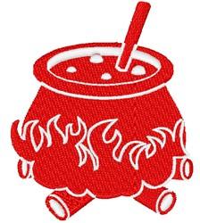 Bubbling Cauldron embroidery design