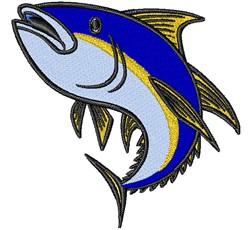 Albacore Fish embroidery design