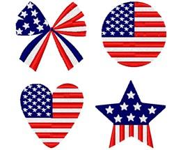 All American Decor embroidery design