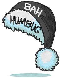 Bah Humbug embroidery design