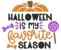 Halloween Season embroidery design