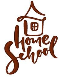 Home School embroidery design